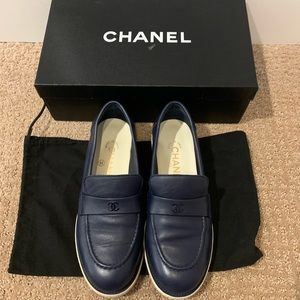 CHANEL women's shoes sneakers loafers flats